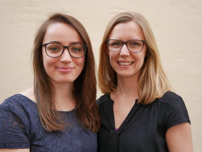 neolexon Gründerinnen Mona Späth und Hanna Jakob